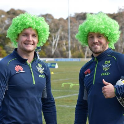 Purchase Canberra Raiders Supporter Wigs