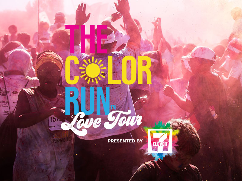 AMART Colour Run Perth