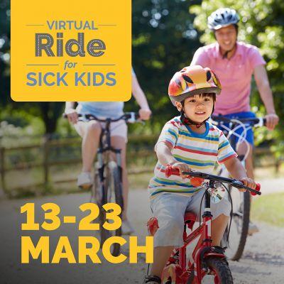 Virtual Ride for Sick Kids VIC&TAS 2021