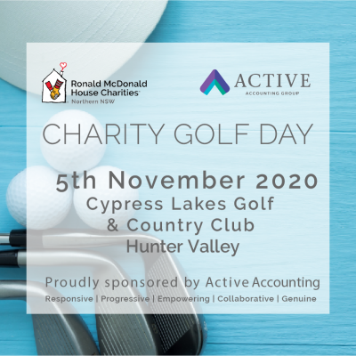 RMHC Northern NSW Hunter Charity Golf Day